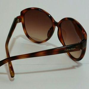Calvin Klein Brown Tortoise Shell Sunglasses